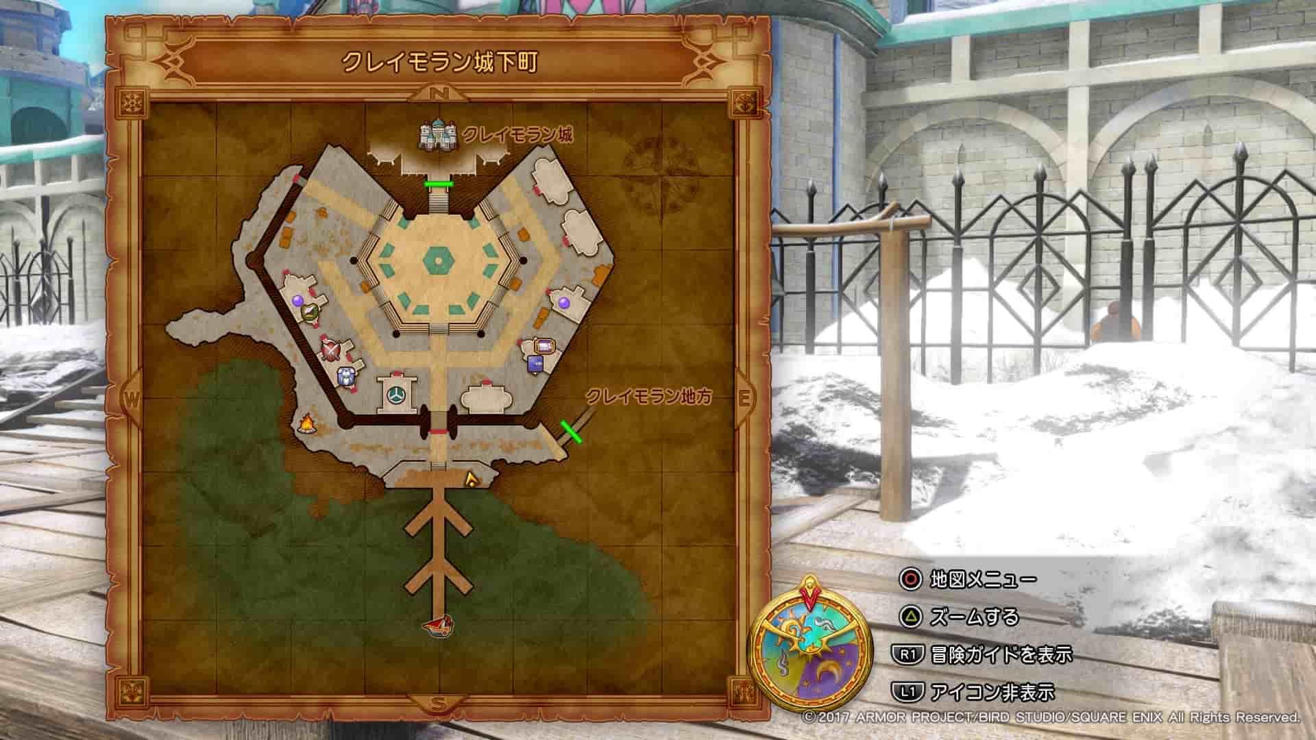 クレイモラン マップ2