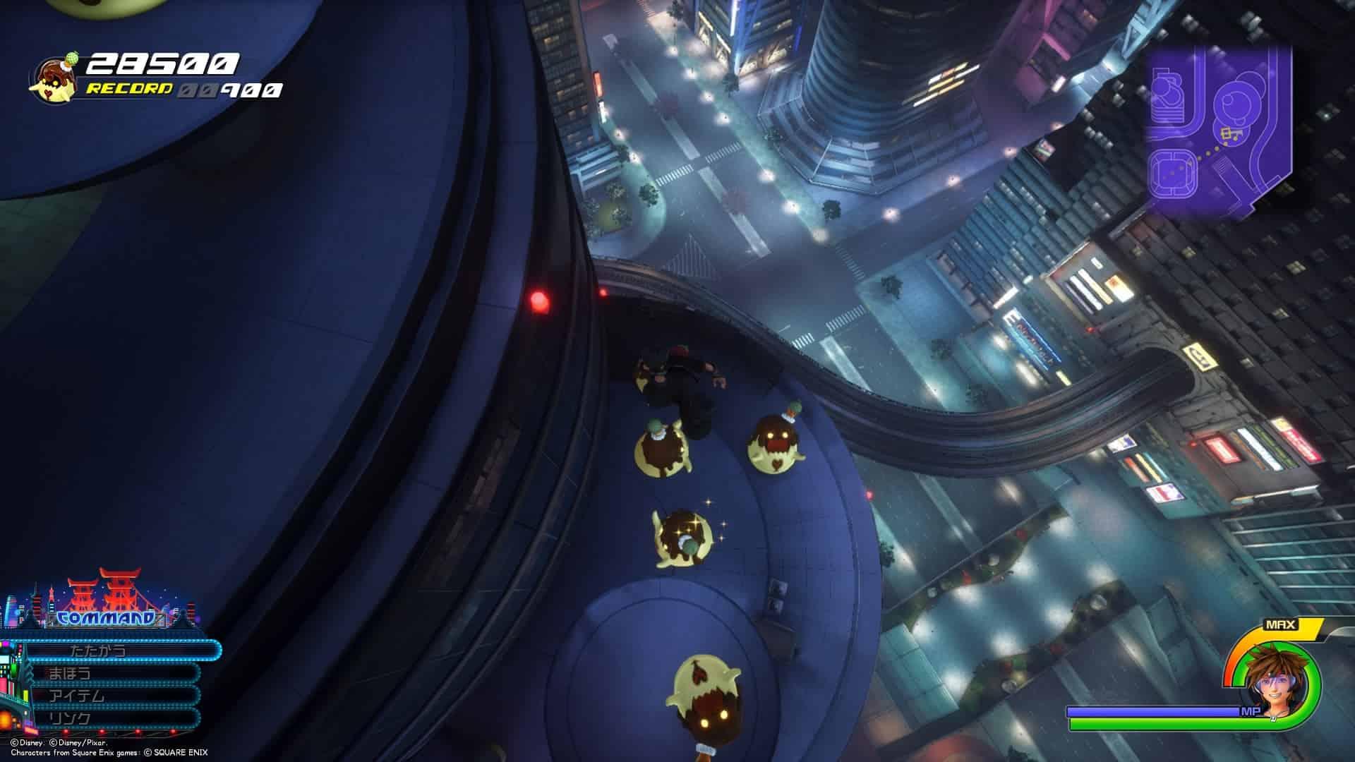 メロンプリンゲーム画面
