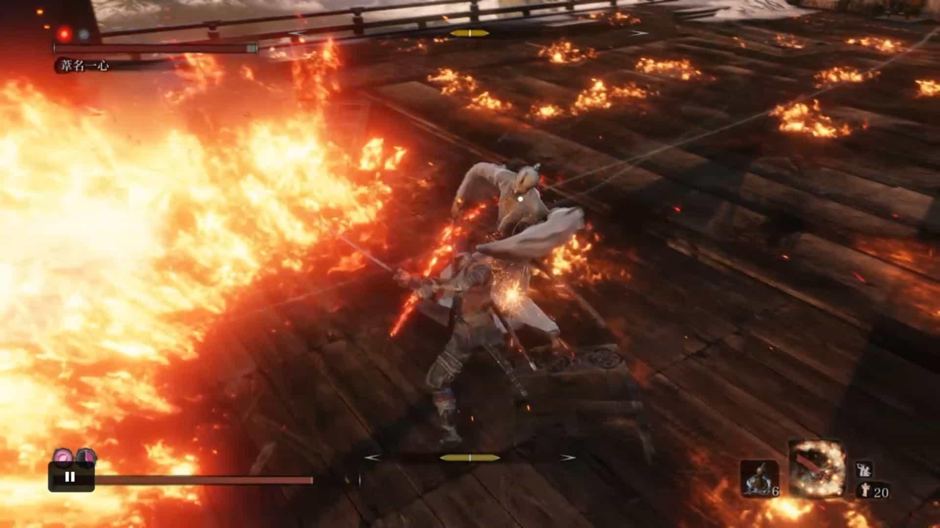 上段火炎斬り4